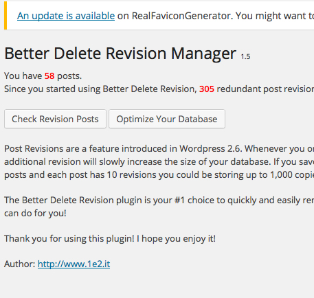 Better Delete Revision画面