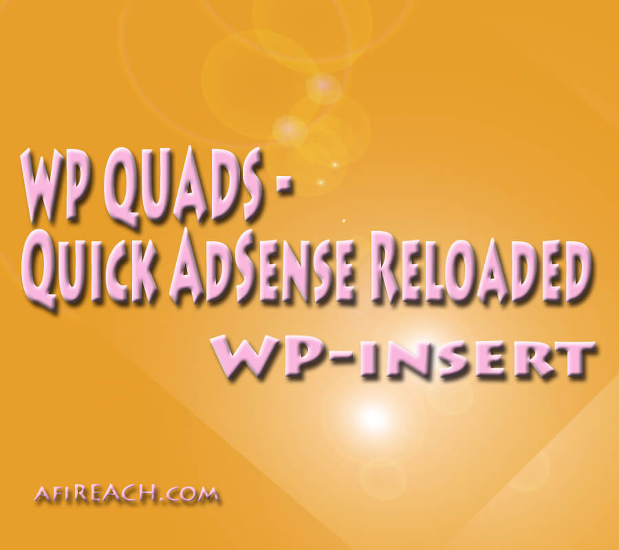 Wp Quads-Quick AdS R